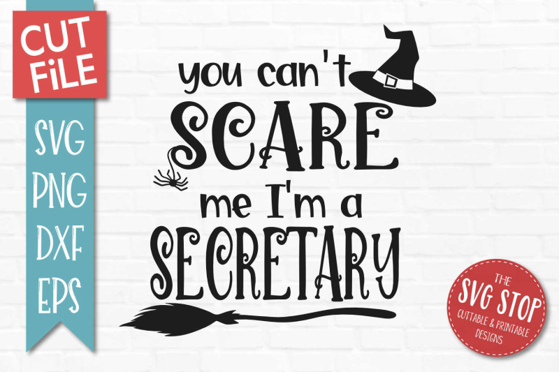 secretary-halloween-svg-cut-file