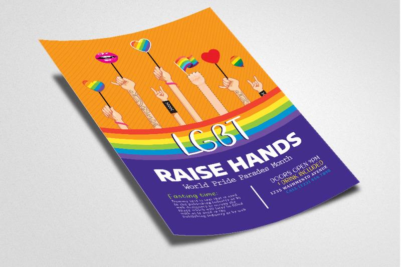 lgbt-pride-poster-template