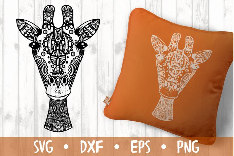 giraffe-svg-cut-file
