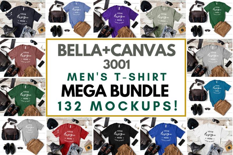 the-ultimate-tshirt-mockup-mega-bundle-bella-canvas-next-level-gildan