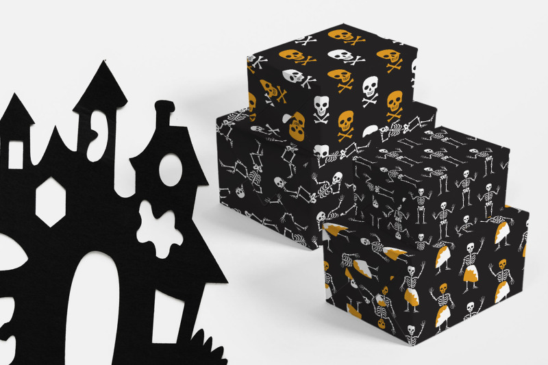skeleton-font-and-graphics-pack