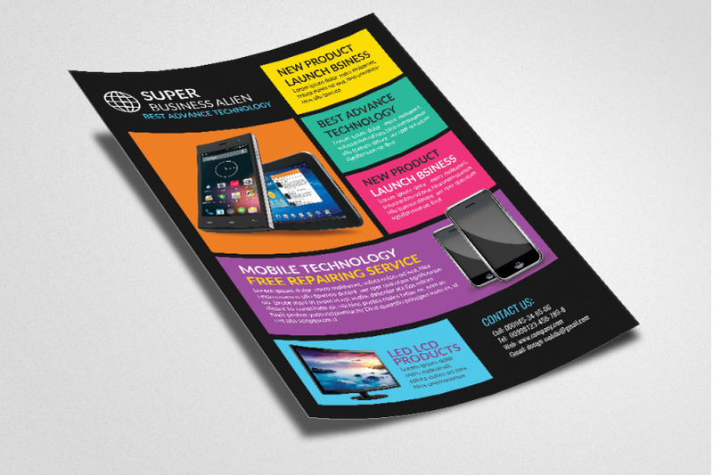 technology-products-flyer-templates