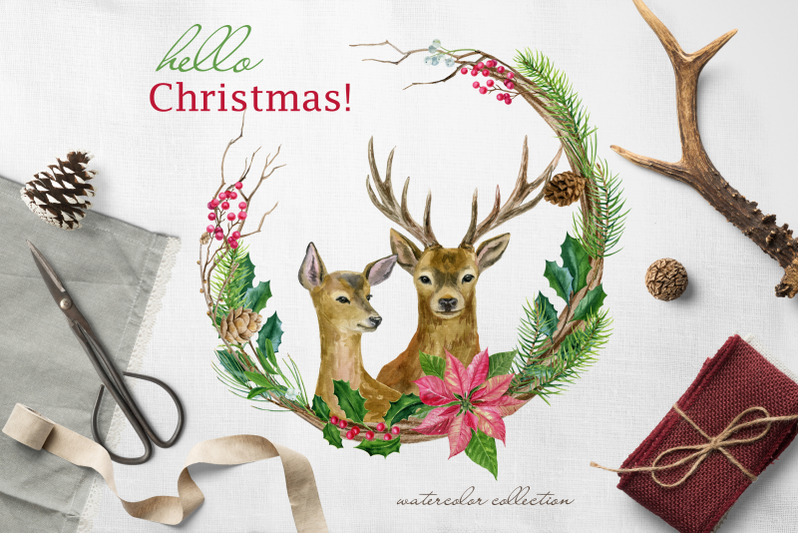 hello-christmas-watercolor-set