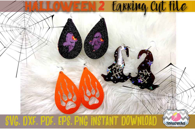 svg-dxf-pdf-png-and-eps-halloween-bundle-2-spider-web-witch-hat