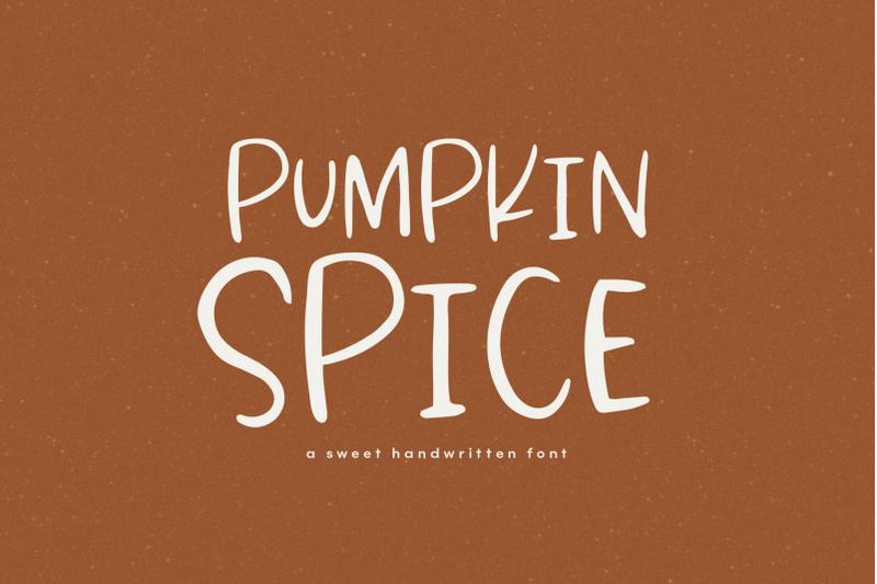 pumpkin-spice-a-handwritten-font