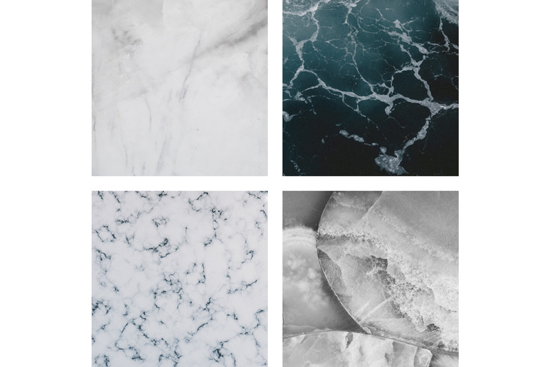 black-and-white-marble