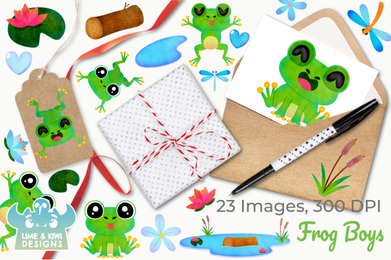 frog-boys-watercolor-clipart-instant-download-vector-art