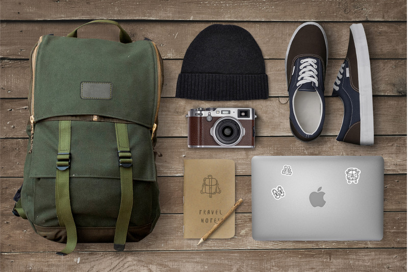 travel-icons-collection