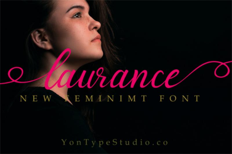 laurance-font