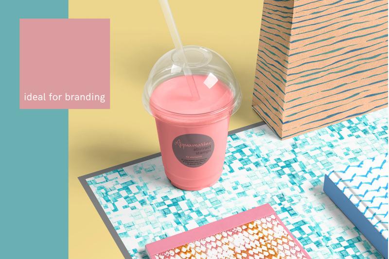 aquamarine-abstract-stamp-mini