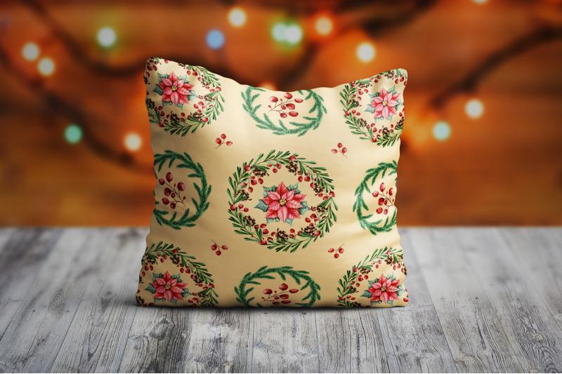 christmas-floral-set