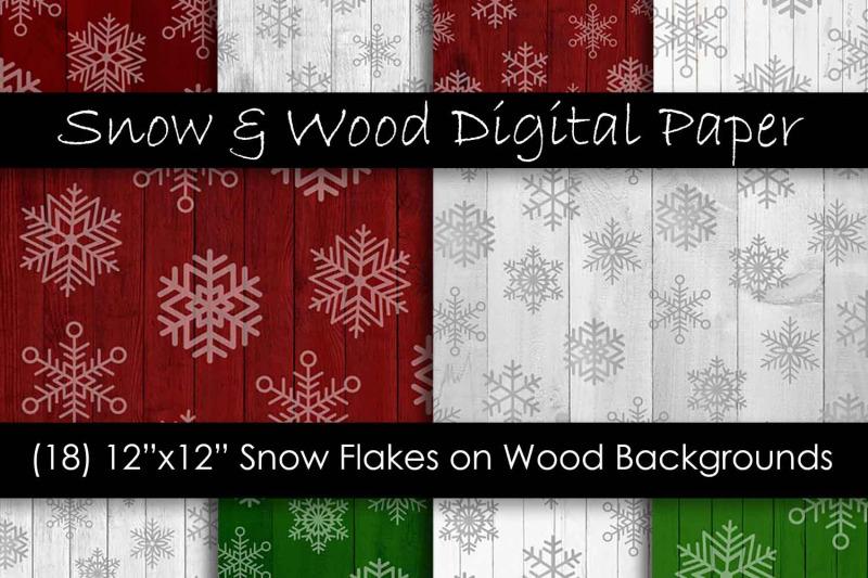 red-amp-green-christmas-snowflake-digital-paper-pack