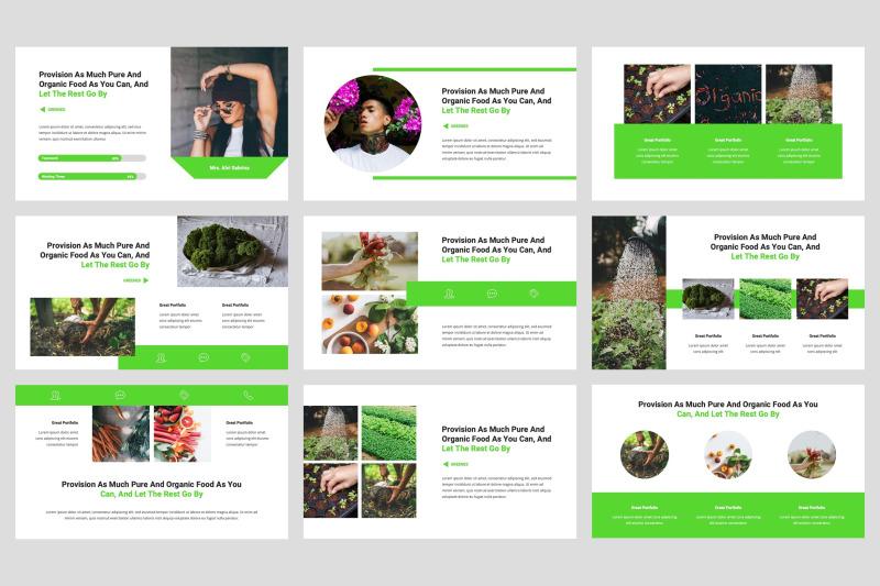 greenes-organic-google-slides-template