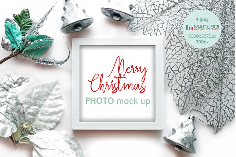 Free Merry Christmas SET (PSD Mockups)
