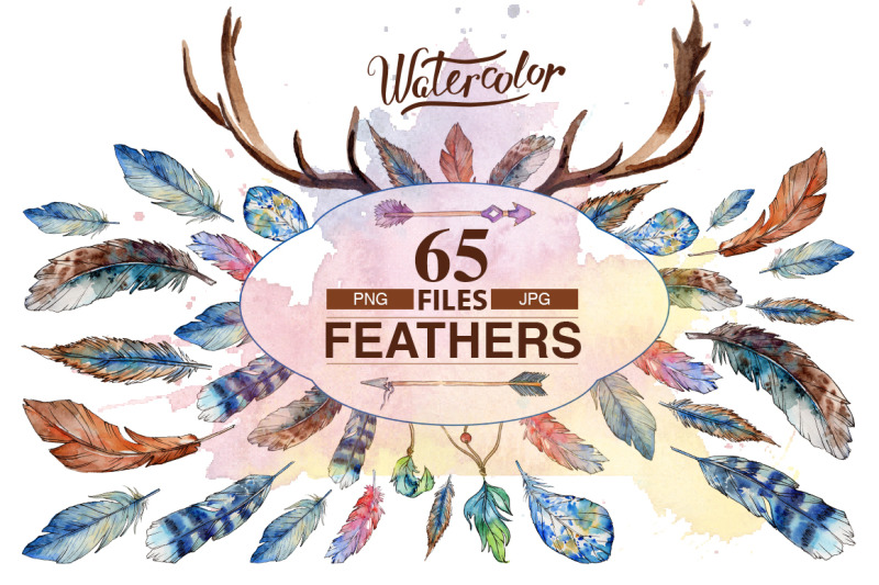 feather-png-watercolor-bird-set