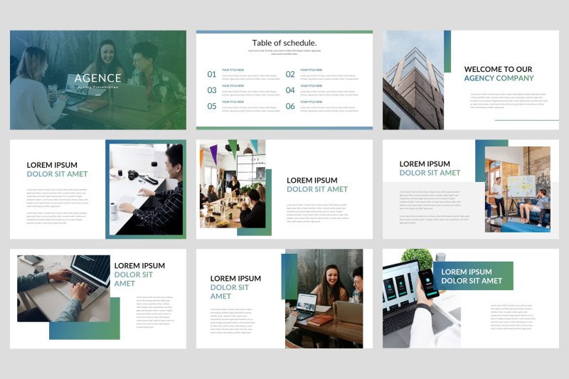 agence-agency-google-slides-template
