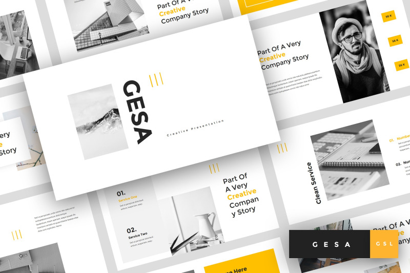 gesa-creative-google-slides-template