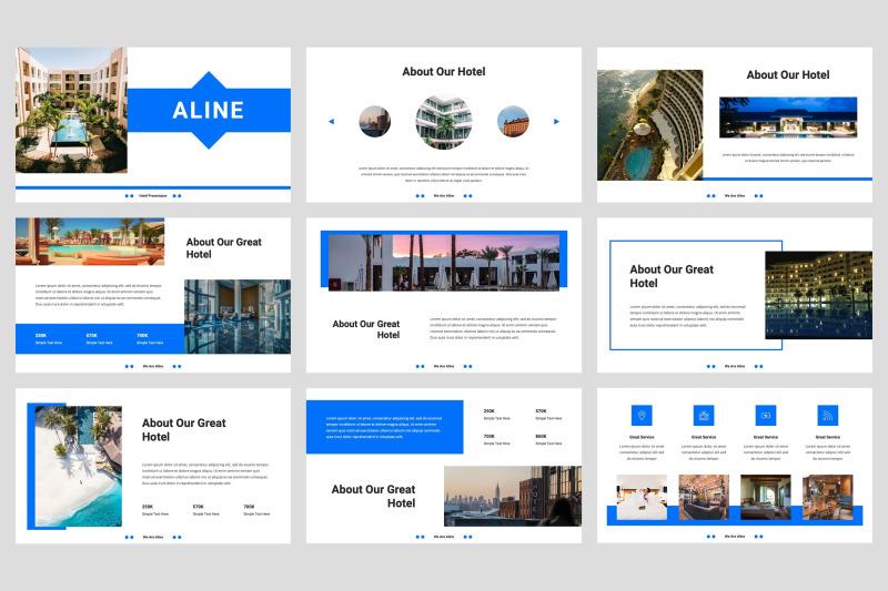 aline-hotel-keynote-template