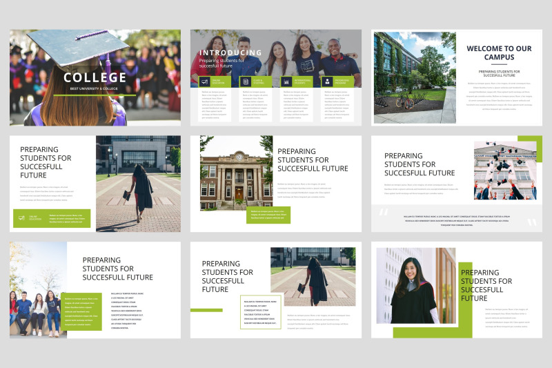 college-university-keynote-template