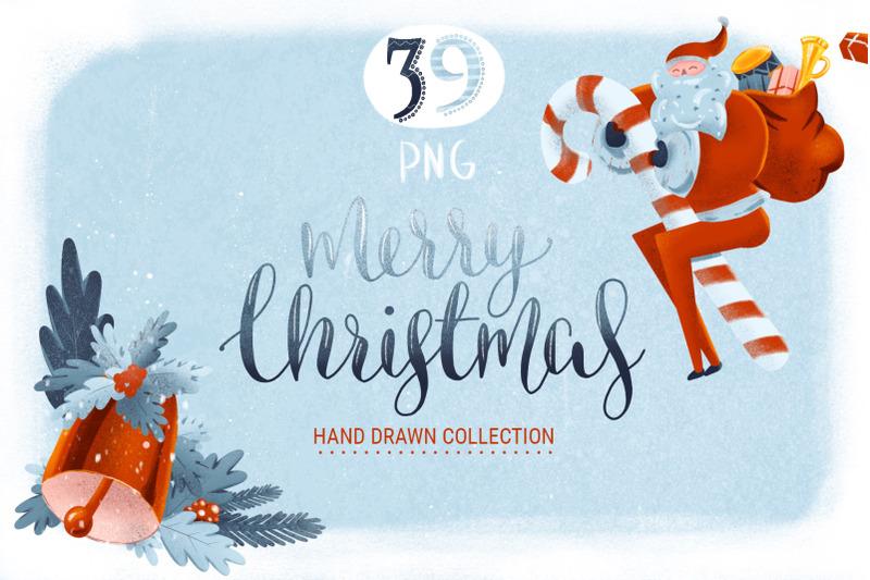hand-drawn-christmas-graphic-set
