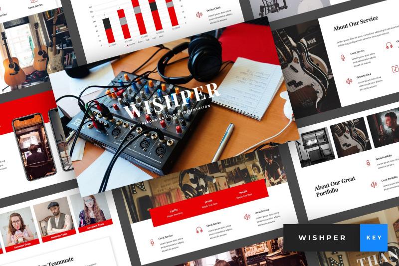 whisper-recording-studio-keynote-template
