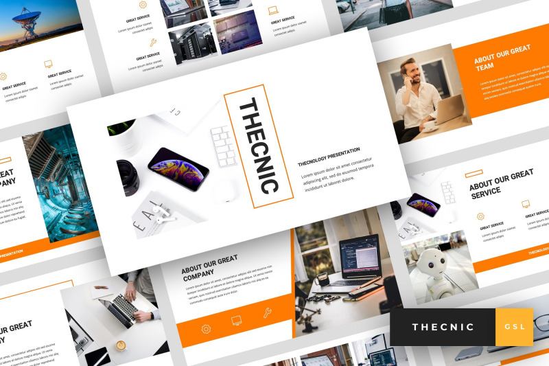 thecnic-technology-google-slides-template