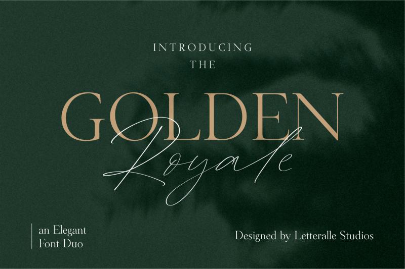 golden-royale-font-duo