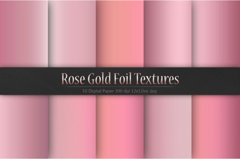 valentine-039-s-day-rose-gold-foil-textures