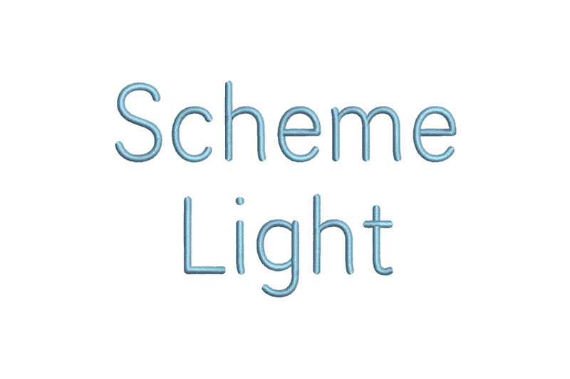 scheme-light-15-sizes-embroidery-font