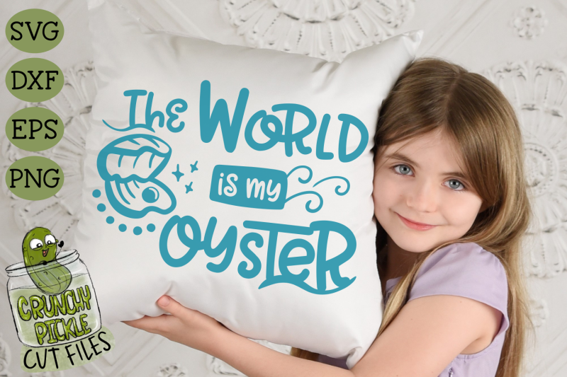 the-world-is-my-oyster-svg