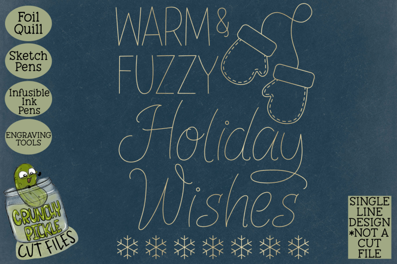 foil-quill-christmas-card-warm-and-fuzzy-single-line