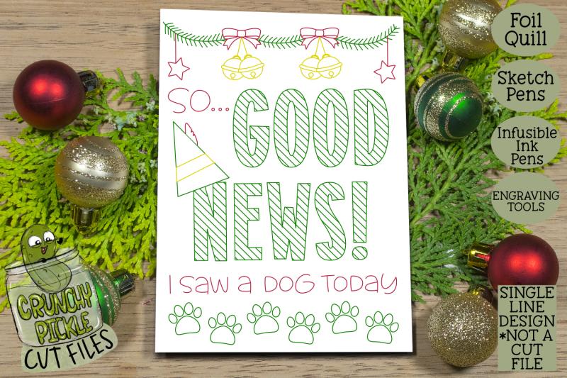 foil-quill-christmas-card-good-news-elf-phrase