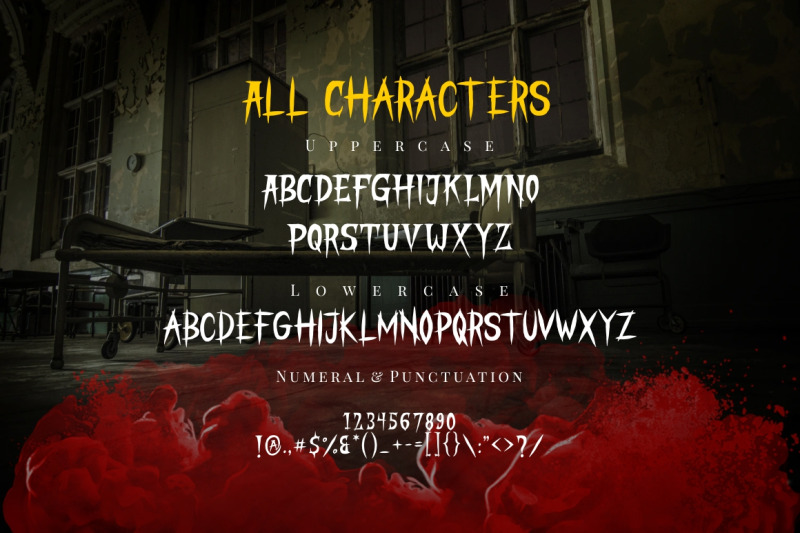 stranger-creature-horror-font