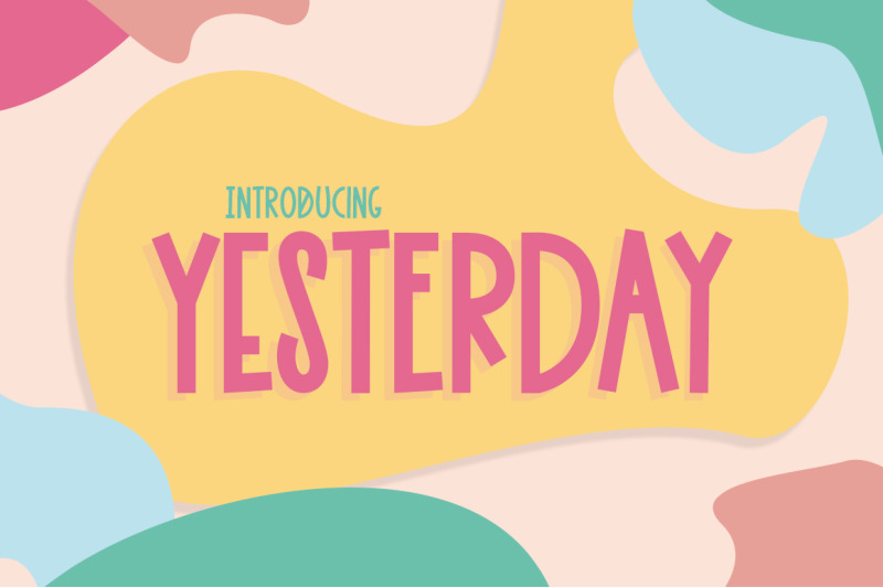 yesterday-font