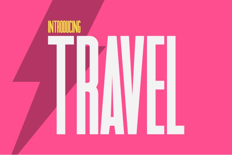 travel-sans-font