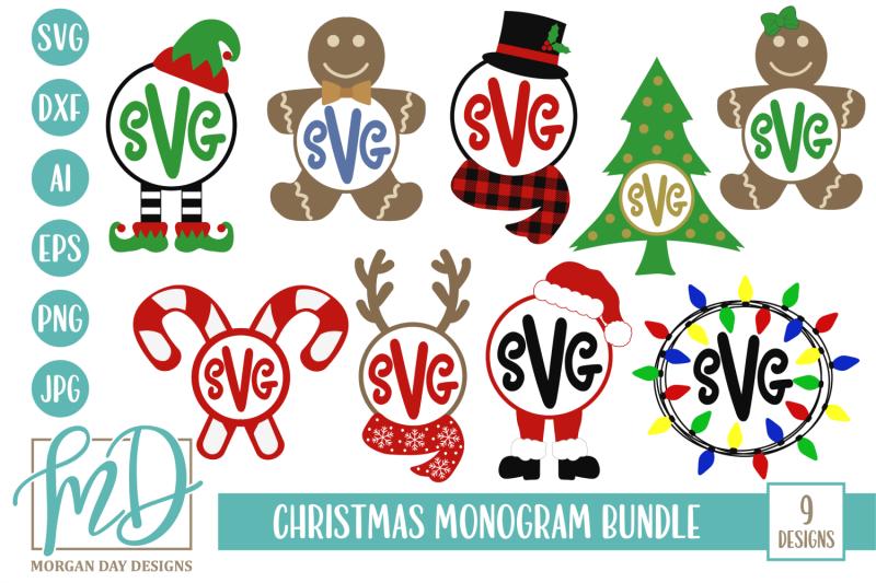 christmas-monogram-svg-bundle