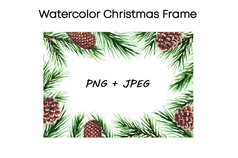 watercolor-cristmas-frame-clipart