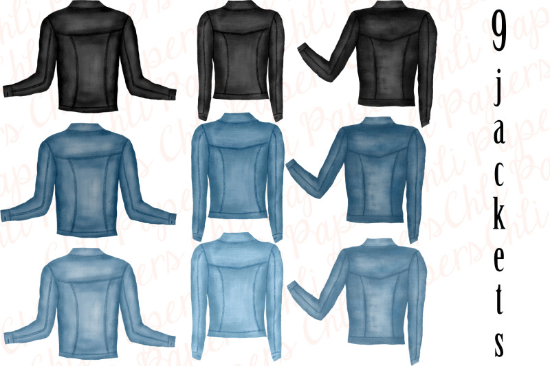 best-friends-clipart-custom-besties-jeans-jackets-clipart