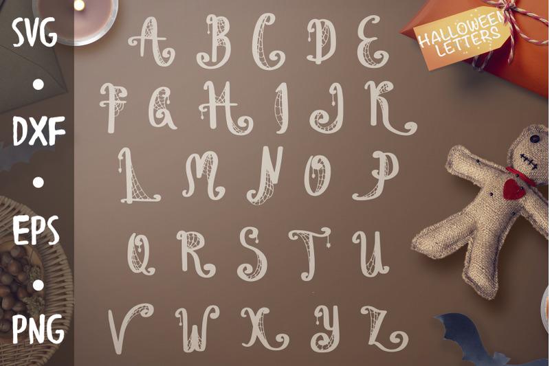 halloween-letters