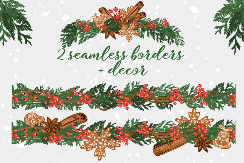 christmas-seamless-borders-png-eps10