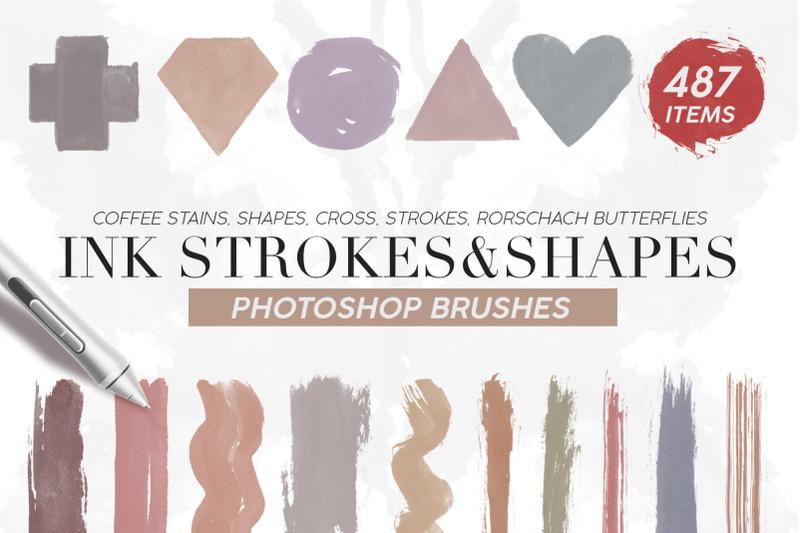 487-ink-shapes-photoshop-brushes