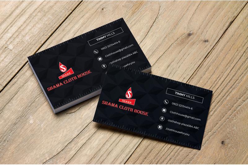 black-business-card