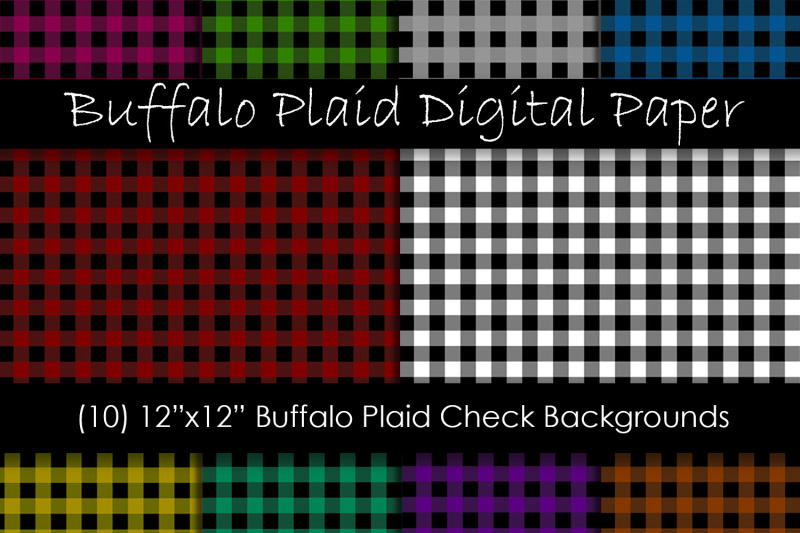 buffalo-check-digital-paper-plaid-backgrounds