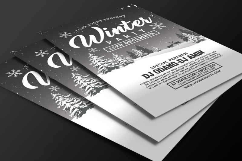 winter-party-flyer