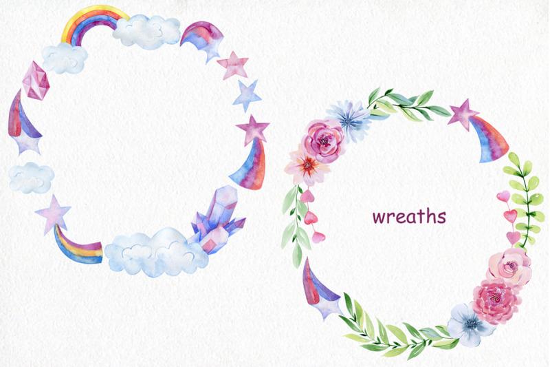 watercolor-unicorns-kit
