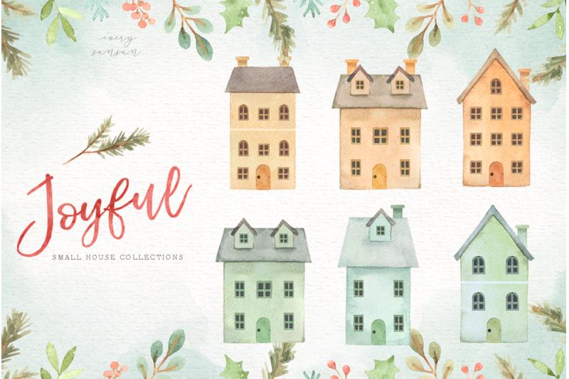 joyful-watercolor-christmas-set