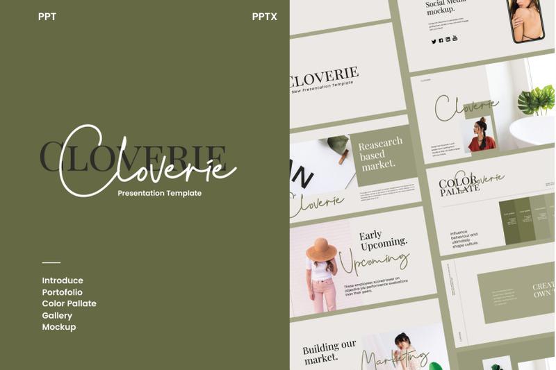 cloverie-powerpoint-template