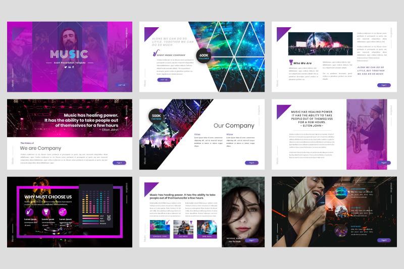 music-event-google-slide-template