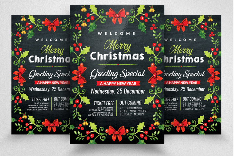 merry-christmas-greeting-flyer-poster-template