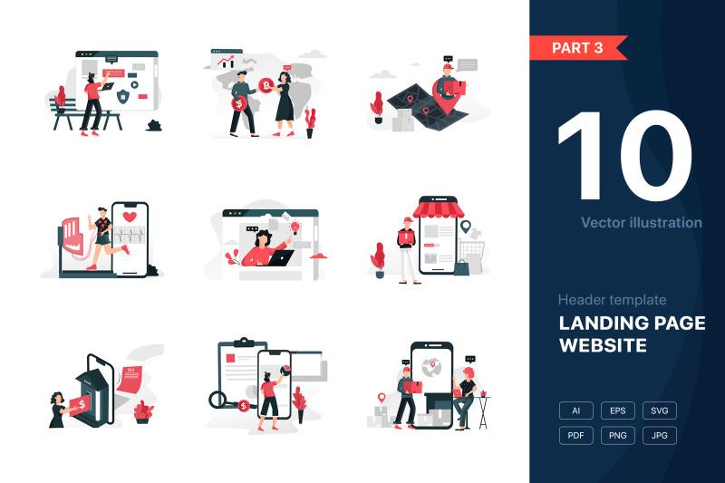 part-3-website-illustrations-set